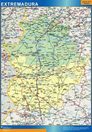 Mapa De Carreteras Galicia.Mapa Galicia Carreteras Magnetico Enmarcado Para Imanes