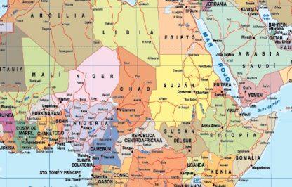 Mapamundi en espanol paises actualizadoac